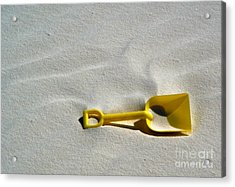 White Sands New Mexico Sand Boz Acrylic Print by Gregory Dyer