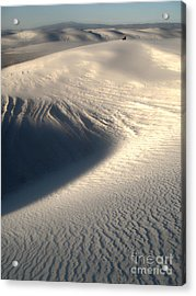 White Sands New Mexico Sand Dunes Acrylic Print by Gregory Dyer