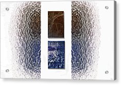 White Space Acrylic Print by Jeff Breiman