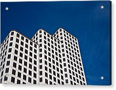 White Towers Acrylic Print by Mark Weaver
