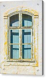 White Window Acrylic Print by Carlos Caetano