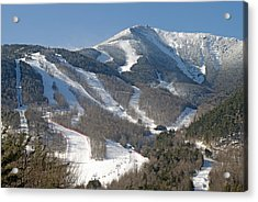 Whiteface Ski Mountain In Upstate New York Near Lake Placid Acrylic Print by Brendan Reals