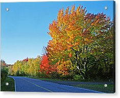 Whitefish Bay Scenic Byway Acrylic Print by James Rasmusson