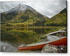 Whitehouse Mountain Acrylic Print by Idaho Scenic Images Linda Lantzy