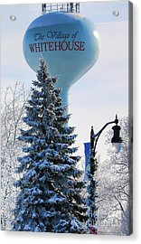 Whitehouse Water Tower  7361 Acrylic Print by Jack Schultz