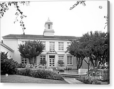 Whittier College Hoover Hall Acrylic Print by University Icons