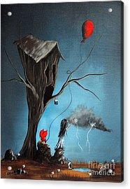 Why Are You So Mad By Shawna Erback Acrylic Print by Shawna Erback