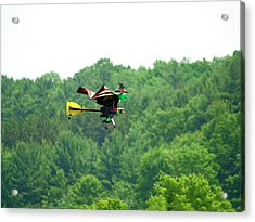 Wicked And Flying Acrylic Print by Thomas Young
