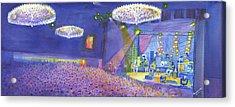 Widespread Panic Wood Tour At Fillmore Auditorium Denver Acrylic Print by David Sockrider
