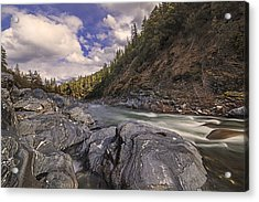 Wild And Scenic Scott River Acrylic Print by Loree Johnson