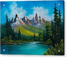 Wild Country  Acrylic Print by C Steele