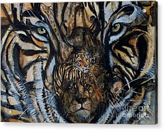 Wild Acrylic Print by Laneea Tolley