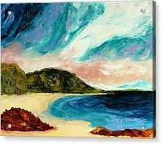 Wild Sky Over The Bay Acrylic Print by Scott Jackson