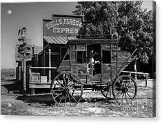 Wild West Stagecoach Acrylic Print by Mel Steinhauer