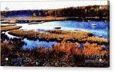 Wildlife Preserve Acrylic Print by Janine Riley