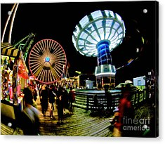 Wildwood Is A Happy Place Acrylic Print by Mark Miller
