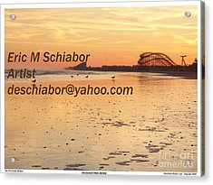 Wildwood Sunset Acrylic Print by Eric  Schiabor