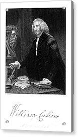 William Cullen (1710-1790) Acrylic Print by Granger