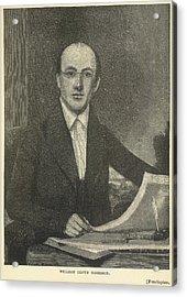 William Lloyd Garrison Acrylic Print by British Library