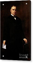 William Mckinley Acrylic Print by August Benziger
