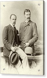 William Osler And Ramsay Wright Acrylic Print by National Library Of Medicine