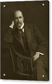 William Osler Acrylic Print by National Library Of Medicine