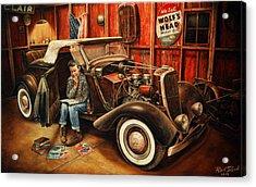 Willie Gillis Builds A Custom Acrylic Print by Ruben Duran