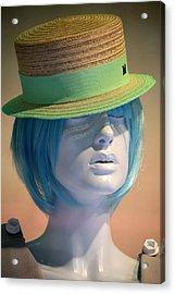 Wilma Acrylic Print by Jez C Self