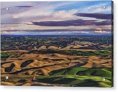 Wind Acrylic Print by Ryan Manuel