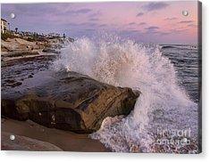 Windansea Beach 2 Acrylic Print by Eddie Yerkish