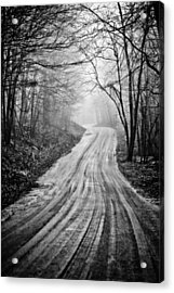 Winding Dirt Road Acrylic Print by Karol Livote