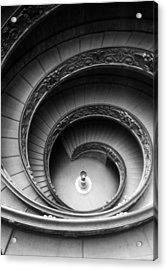 Winding Stairway Acrylic Print by Thomas D McManus