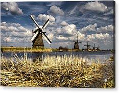 Windmills Acrylic Print by Oleksandr Maistrenko