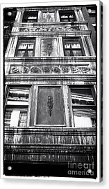 Window Design Acrylic Print by John Rizzuto