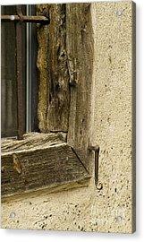 Window Frame Detail 2 Acrylic Print by Heiko Koehrer-Wagner