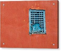 Window In Marrakesh Acrylic Print by Daniel Kocian