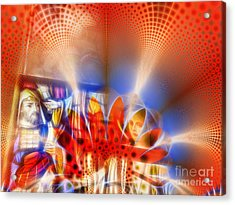 Window Of Illusions Acrylic Print by Ian Mitchell