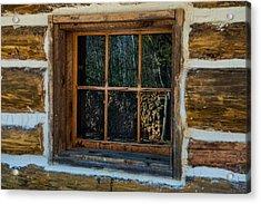 Window Reflection Acrylic Print by Paul Freidlund