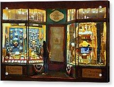 Window Shopping Acrylic Print by Jeff Kolker