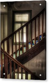 Window Stairs Acrylic Print by Nathan Wright