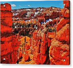 Window To Bryce Acrylic Print by Benjamin Yeager