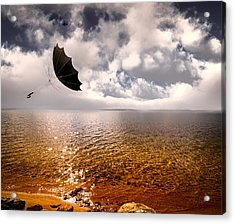 Windy Acrylic Print by Bob Orsillo