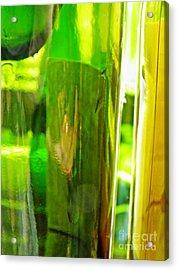Wine Bottles 21 Acrylic Print by Sarah Loft