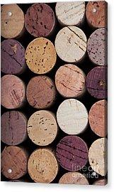 Wine Corks 1 Acrylic Print by Jane Rix