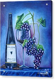 Wine Dance Acrylic Print by Ruben Archuleta - Art Gallery