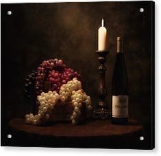 Wine Harvest Still Life Acrylic Print by Tom Mc Nemar