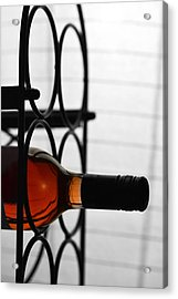 Wine Rack Acrylic Print by Toppart Sweden