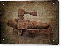 Wine Tap Acrylic Print by Tom Mc Nemar