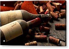 Wine Tasting Acrylic Print by Cole Black