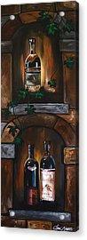 Wine Trio Acrylic Print by Dani Abbott